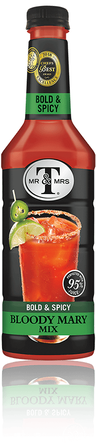 Mr & Mrs T Bold & Spicy Bloody Mary Mix bottle