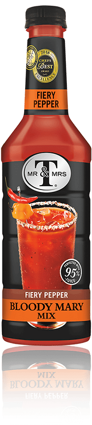 Mr & Mrs T Fiery Pepper Bloody Mary Mix bottle