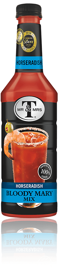 Mr & Mrs T Horseradish Bloody Mary Mix bottle