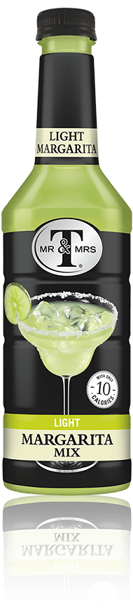 Mr & Mrs T Light Margarita Mix bottle