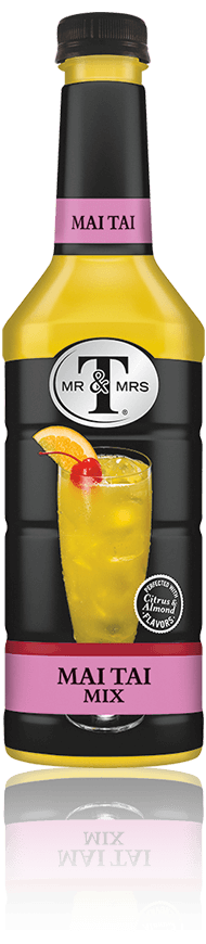 Mr & Mrs T Mai Tai Mix bottle