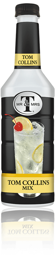 Mr & Mrs T Tom Collins Mix bottle
