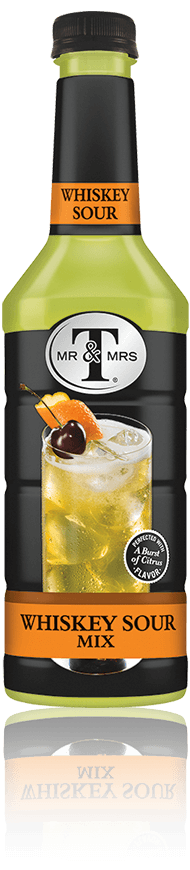 Mr & Mrs T Whiskey Sour Mix bottle